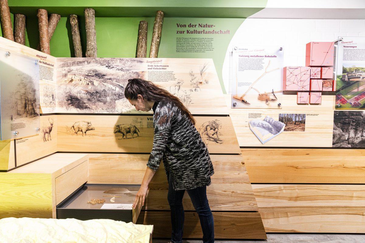 interaktive Ausstellung in Beaufort